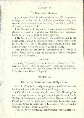 """End of the colony of Sancti Spiritus"""