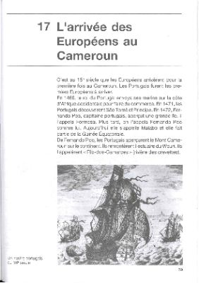 """The arrival of the Europeans in Cameroon"""