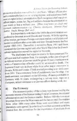 German Imperial Control (1884-1914)