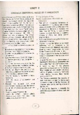 """""""German imperial Rule in Cameroon"""""""