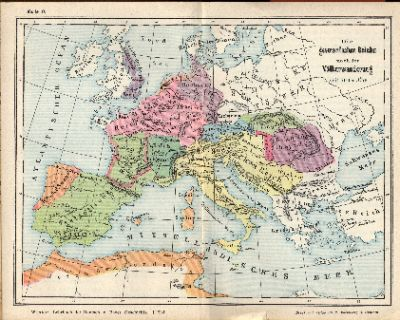 """The Germanic Empires following the Age of Migration"""