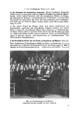 Peace Conference in Münster 1648