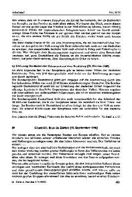 """""""Churchill: Speech, Zurich (19th of September 1946)"""""""