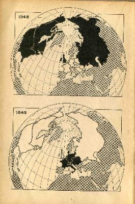 The World in 1848 and in 1948