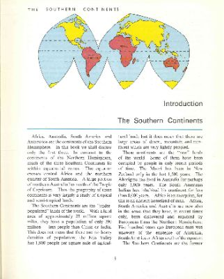 """""""The Southern Continents"""""""